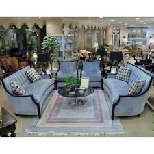 livingroom table ls exposed wood sofa living room set in blue