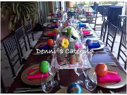 party in colors with denni u0027s catering denni u0027s catering
