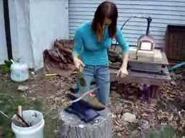 Backyard Blacksmithing Blacksmithing A Decorative Knife Youtube