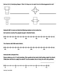 3 g 1 understand shapes 3rd grade common core math worksheets 4th