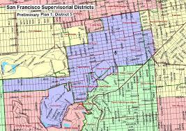 Map Of San Francisco Neighborhoods by Sf District Maps U0026 Data Sf Gsa