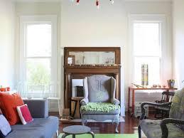 Large Living Room Mirror by Beige Sofa Bay Window Metallic Painting Starburst Wall Mirror