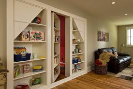 hidden attic access houzz
