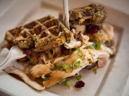 thanksgiving waffles at the cne in toronto by fabulous faith