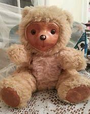 Wooden Faced Teddy Bears Robert Raikes Bear 20