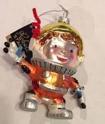 astronaut ornament assorted cotton headed ninny muggins