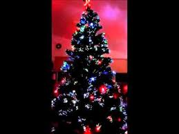 pre lit fiber optic 7 green artificial tree with led