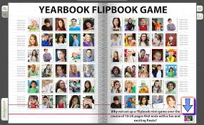 a yearbook flipping out how adding a flipbook brings to your yearbook pages