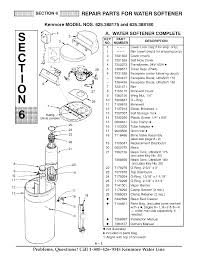 kenmore 500 washer manual page 28 of kenmore water system ultrasoft 175 625 388170 user