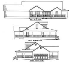 House Plans With Elevations And Floor Plans House Plan 82051 At Familyhomeplans Com