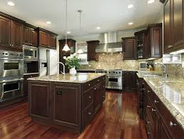 Kitchen Design Pictures Dark Cabinets Giallo Ornamental Granite For Warm U0026 Elegant Kitchen Design