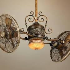 Ceiling Fans For Kitchens With Light Magnificent Industrial Ceiling Fans With Light And Vintage