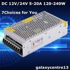 le 24v cctv 24v power supply ebay
