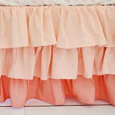 Baby Crib Bed Skirt Ruffled Crib Skirt Baby Crib Skirt Nursery Bed Skirt