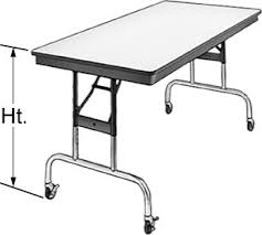 Folding Table With Wheels Portable Change Table