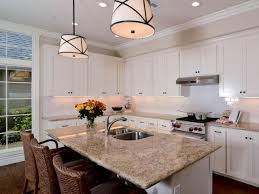 Transitional Kitchen Ideas Transitional Open White Kitchen Kerrie Kelly Hgtv