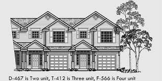 traditional 2 story house plans duplex house plans 2 story duplex house plans d 467
