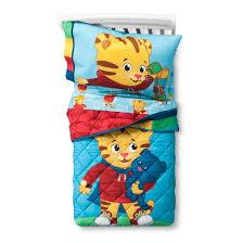 daniel tiger blue toddler bedding set target