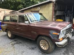 1987 jeep wagoneer interior 1987 jeep grand wagoneer 4x4 for sale in frederick maryland 2 800