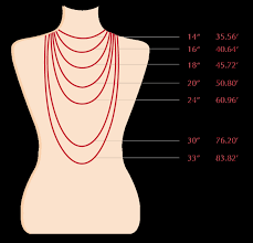 necklace size images Necklace size maron jewelry png