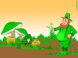 get lucky with leprechaun desktop wallpaper for st patrick u0027s day