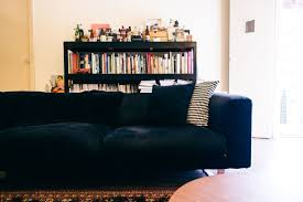 Bookshelf Behind Couch House Tour Khairul U0027s Home Of Vintage Collectibles And Curiosities