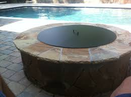 fire table cover rectangle exploit propane fire pit cover round grill ideas dj djoly outdoor