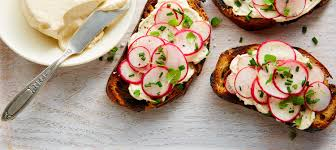 beef canape recipes joe beef s cheese fresh radish canapés recipe dairy goodness