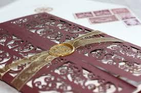 laser cut wedding programs yolanda s go for a concertina shaped laser cut invitation