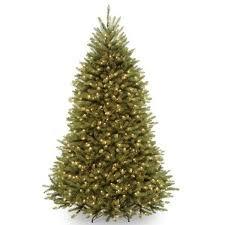 tree artificial green fir with 900 clear lights 9 ft