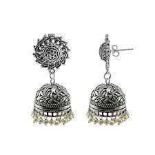 jhumka earrings uk surya studs jhumki pearl jhumka earrings handmade artisan https