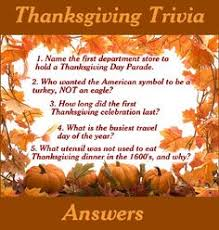 thanksgiving j i n g o trivia questions trivia and