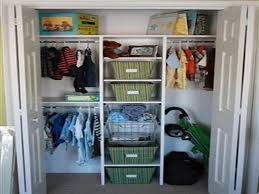 amazing diy nursery closet organizer in the wall with clothes hook