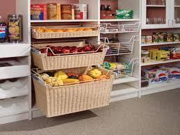 endearing organizing storage system presenting kitchen pantry