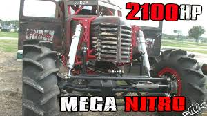 monster truck nitro 3 2100hp mega nitro mud truck is a beast