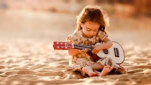 girly guitar wallpaper cute guitarist on sand wallpapers 1600x900 367553