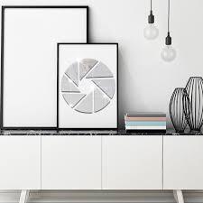 aliexpress com buy geometric patterns round combination acrylic