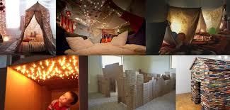 comment faire une cabane dans une chambre cabane intérieure 10 idées créatives