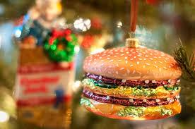 hamburger ornament decore