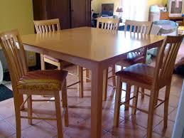 chaise de cuisine bois classique éclairage style pour table en bois de cuisine table avec 4