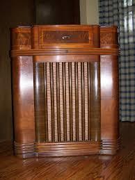 Philco Record Player Cabinet Philco 42 1012 Console Radio This Is My Most Recent Radio U2026 Flickr