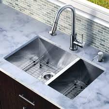 kitchen sink pictures all in one inch stainless steel double bowl