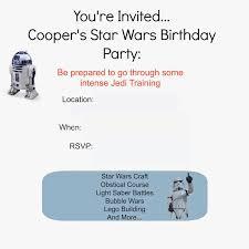 star wars birthday party u2013 taylor joelle