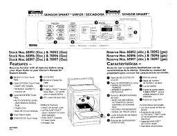 kenmore elite dryer wiring diagram u0026 79046812991 elite dual fuel
