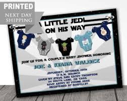 Star Wars Baby Shower Invitations - customized printable star wars baby shower invitations star
