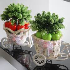 fruit flowers baskets decorative simulation flower rural wind household decoration