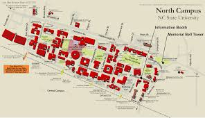 Map Of Raleigh Nc North Carolina State University Campus Map