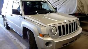 silver jeep patriot 2016 2008 jeep patriot silver youtube