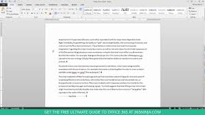Best Resume In Word by How To Delete An Unwanted Blank Page In Word 2013 Or 2016 Youtube