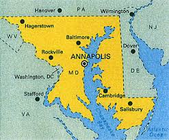 maryland map capital visit annapolis md in fall great family vacations